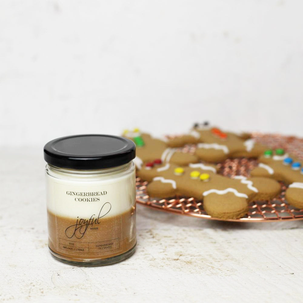 Gingerbread Cookies Soy Candle & Wax Melts - Joyful Home Inc.