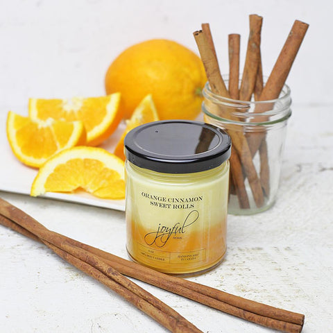 Orange Cinnamon Sweet Rolls Soy Candle & Wax Melts