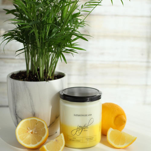 Lemongrass Soy Candle - Joyful Home Inc.