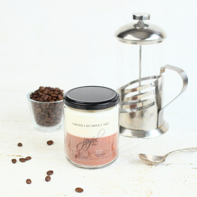 Coffee Crumble Cake Soy Candles - Joyful Home Inc.