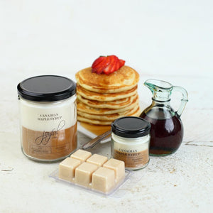 Canadian Maple Syrup Soy Candle - Joyful Home Inc.