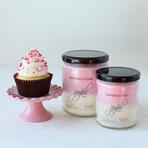 Birthday Cake Soy Candle - Joyful Home Inc.