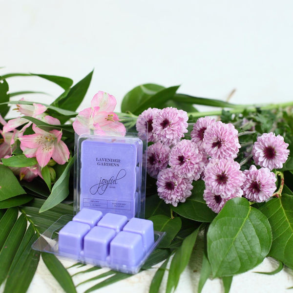 Lavender Garden Soy Candle & Wax Melts