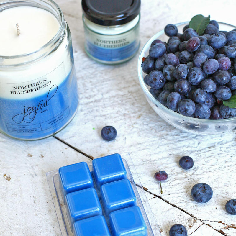 Northern Blueberry Soy Candle - Joyful Home Inc.