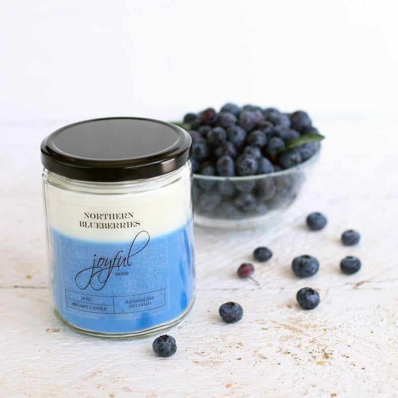 Northern Blueberry Soy Candle & Wax Melts - Joyful Home Inc.