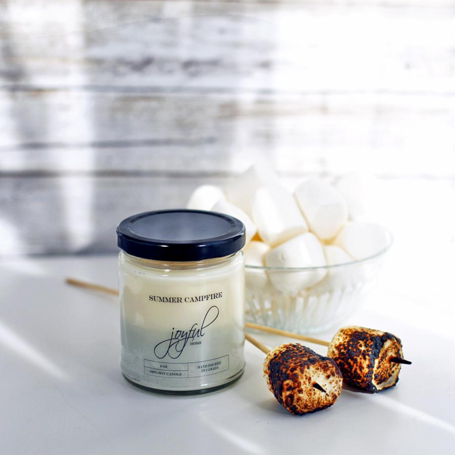 Summer Campfire Soy Candles & Wax Melts - Joyful Home Inc.