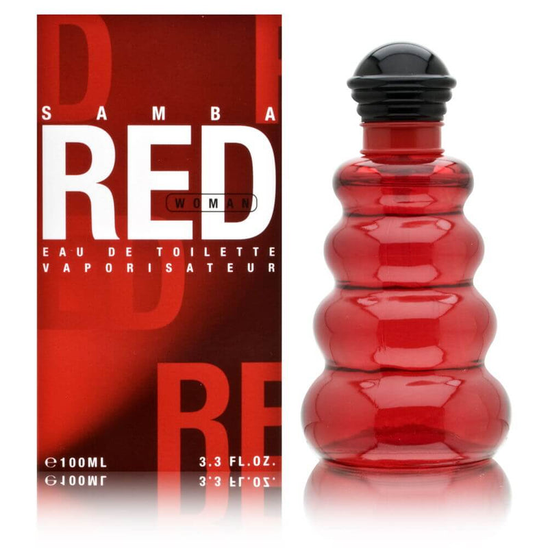 WORKSHOP - Samba Red para mujer / 100 ml Eau De Toilette Spray
