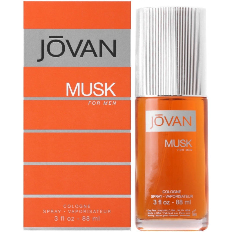 JOVAN - Jovan Musk para hombre / 90 ml Cologne Spray