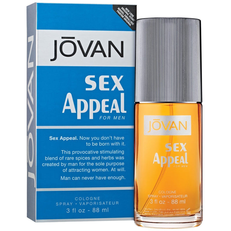JOVAN - Jovan Sex Appeal para hombre / 90 ml Cologne Spray