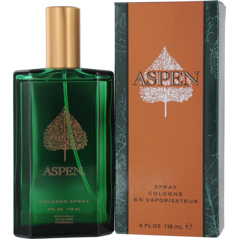 COTY - Aspen For Men para hombre / 118 ml Eau De Cologne Spray