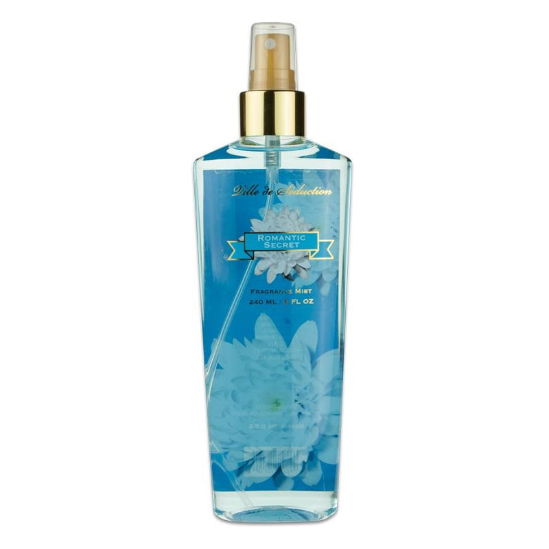 VILLE DE SEDUCTION - Romantic Secret para mujer / 240 ml Body Mist Spray