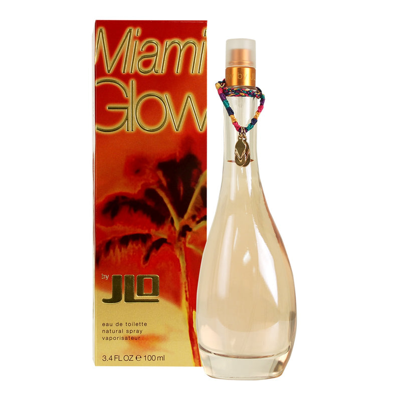 JENNIFER LOPEZ - Miami Glow para mujer / 100 ml Eau De Toilette Spray
