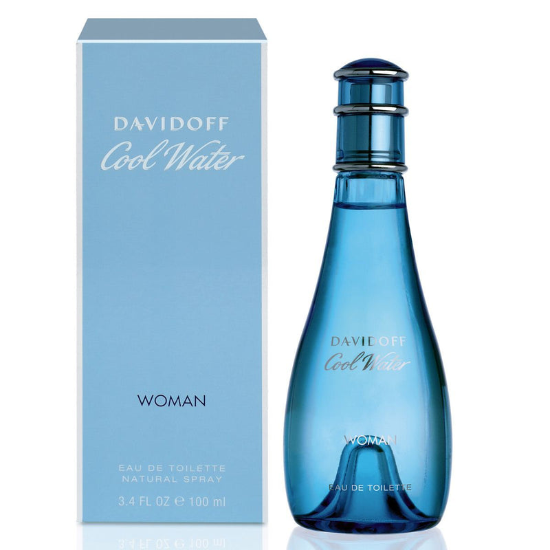 DAVIDOFF - Cool Water para mujer / 100 ml Eau De Toilette Spray