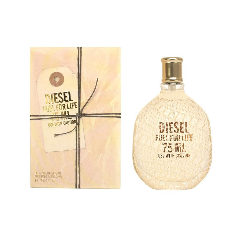 DIESEL - Diesel Fuel For Life para mujer / 75 ml Eau De Parfum Spray