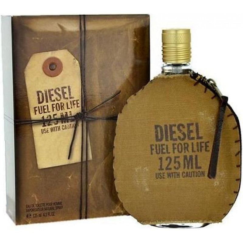DIESEL - Diesel Fuel For Life para hombre / 125 ml Eau De Toilette Spray