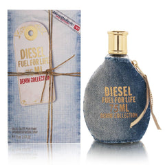 DIESEL - Diesel Fuel For Life (Denim collection) para mujer / 100 ml Eau De Toilette Spray