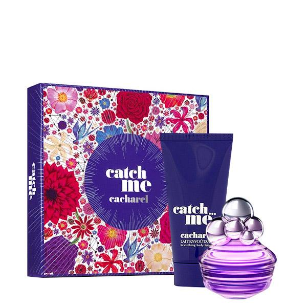 CACHAREL - Catch Me para mujer / SET - 80 ml Eau De Parfum Spray + 200 ml Crema Corporal
