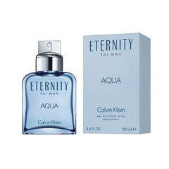 CALVIN KLEIN - Eternity Aqua para hombre / 100 ml Eau De Toilette Spray