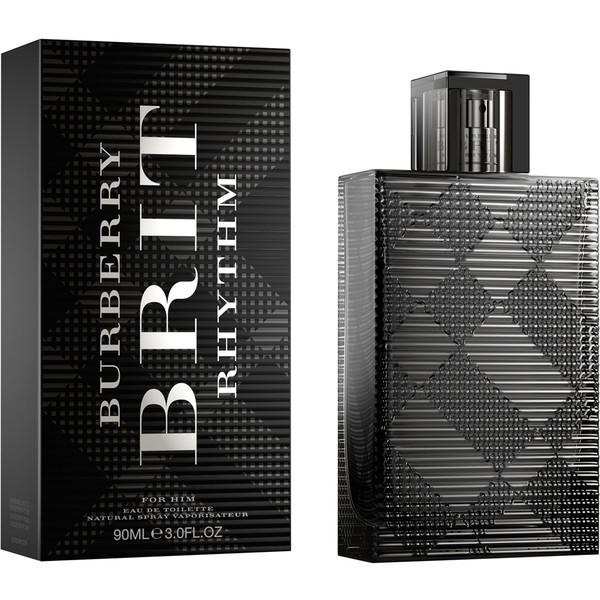 BURBERRY - Burberry Brit Rhythm para hombre / 90 ml Eau De Toilette Spray
