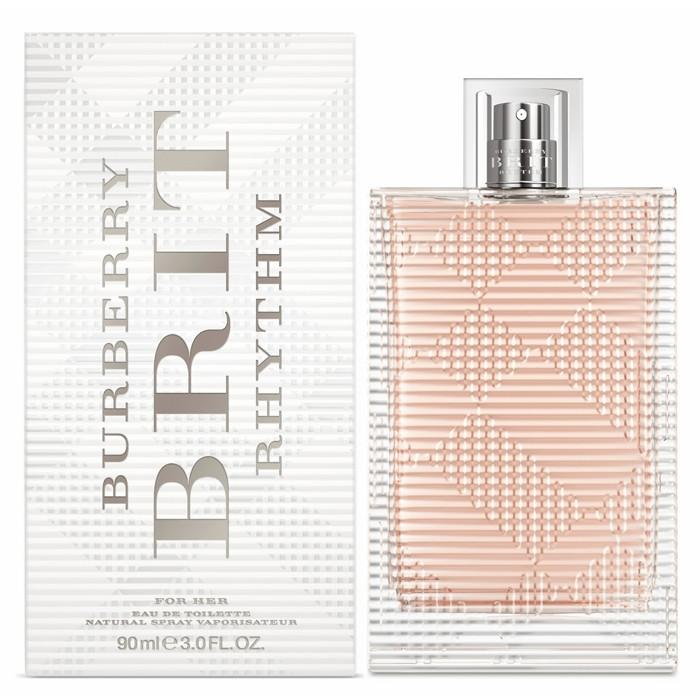 BURBERRY - Burberry Brit Rhythm para mujer / 90 ml Eau De Toilette Spray