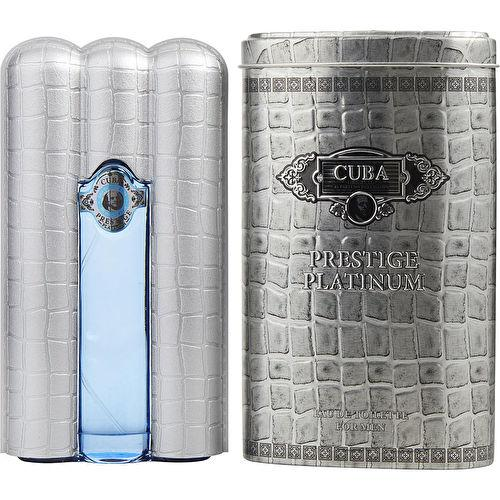 CUBA PARIS - Cuba Prestige Platinum para hombre / 90 ml Eau De Toilette Spray