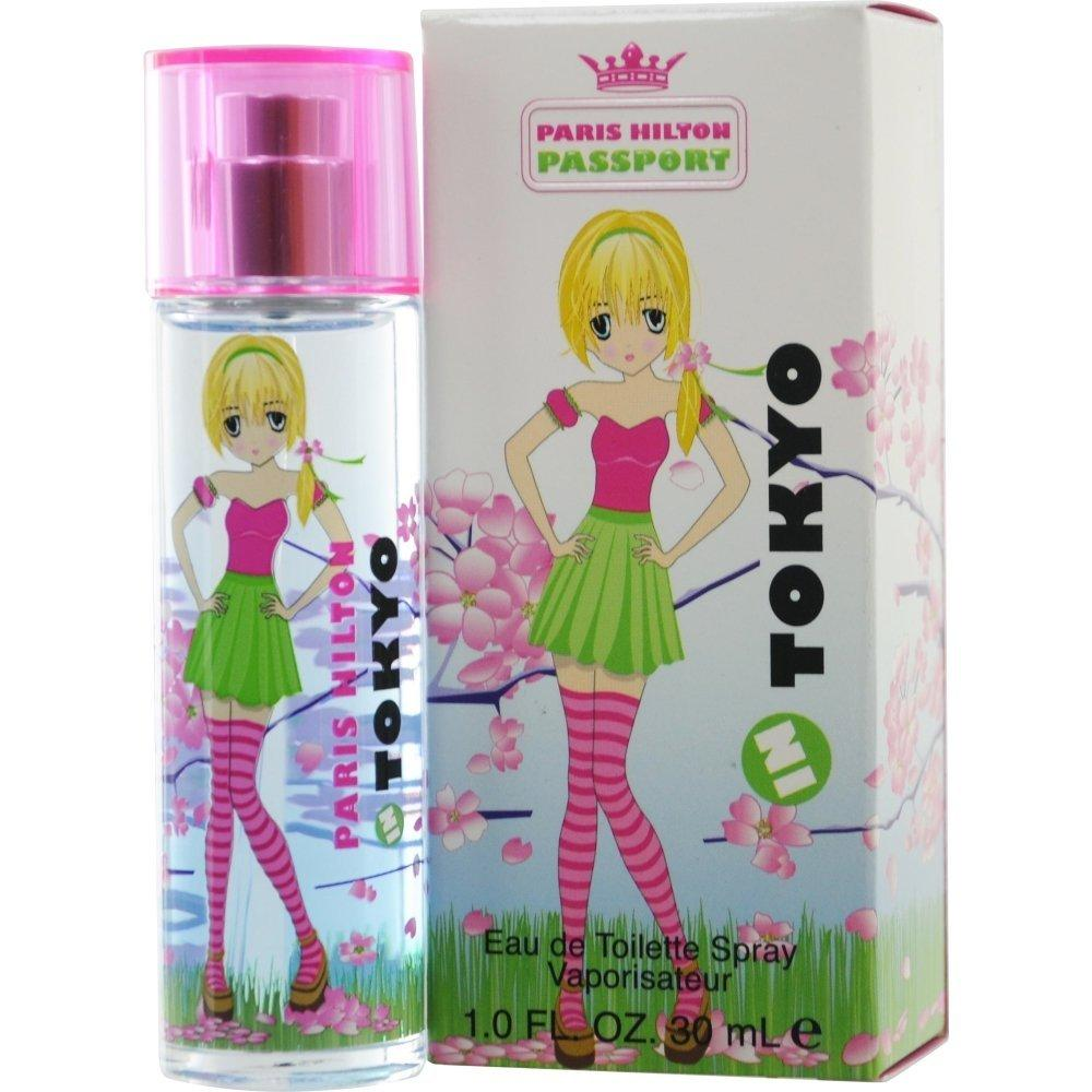 PARIS HILTON - Passport in Tokyo para mujer / 100 ml Eau De Toilette Spray