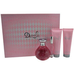 PARIS HILTON - Dazzle para mujer / SET - 125 ml Eau De Parfum Spray + 90 ml Body Lotion + 90 ml Bath & Shower Gel + 10 ml EDP