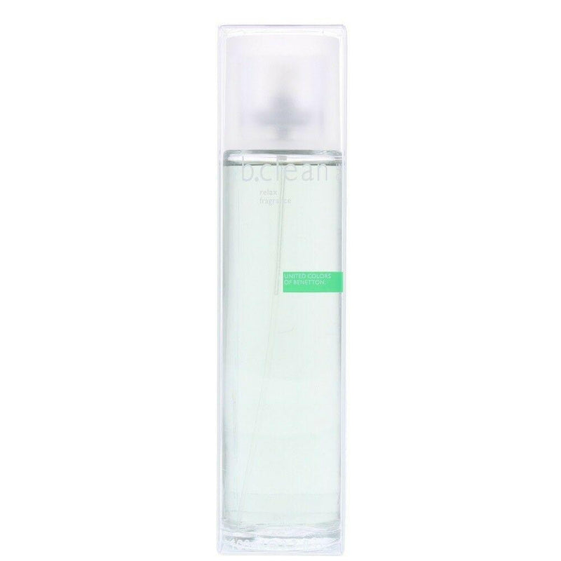 BENETTON - Be Clean Relax para mujer / 100 ml Eau De Toilette Spray