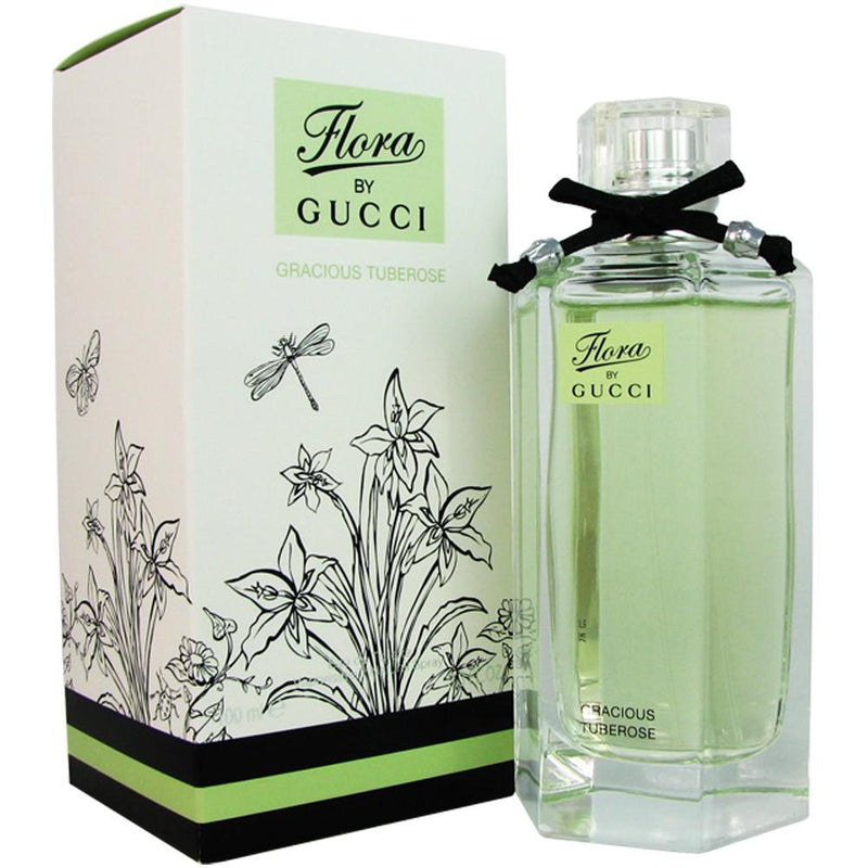 GUCCI - Flora by Gucci Gracious Turberose para mujer / 100 ml Eau De Toilette Spray