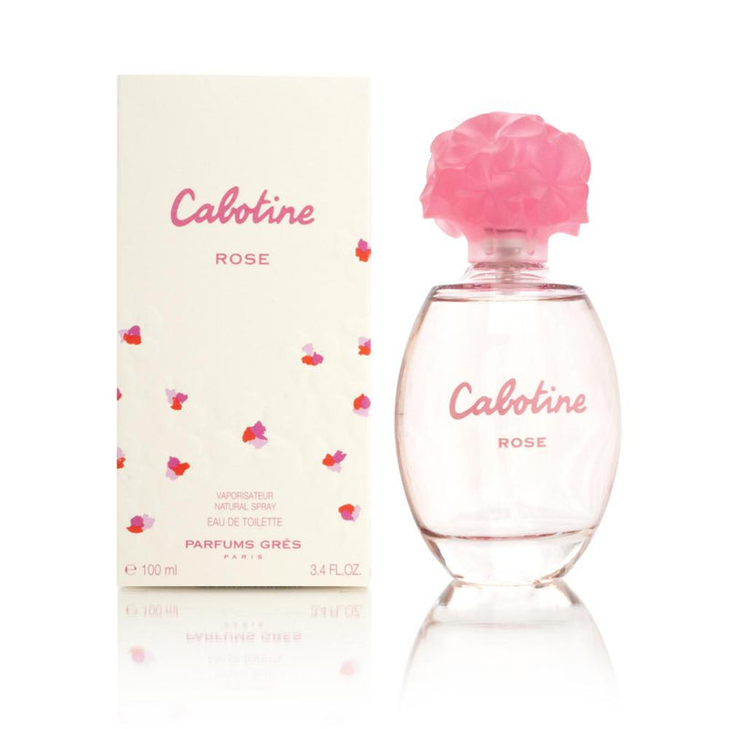 GRES - Cabotine Rose para mujer / 100 ml Eau De Toilette Spray