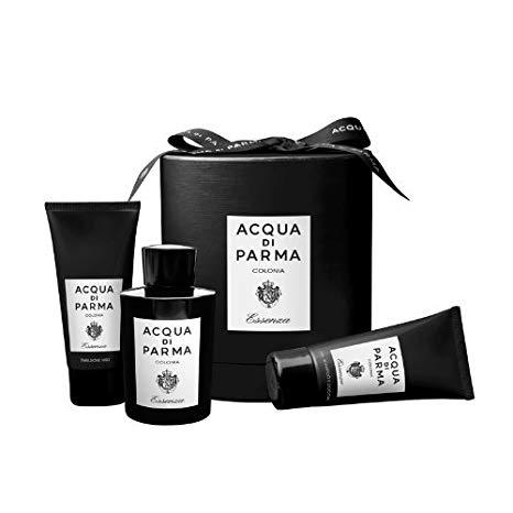 ACQUA DI PARMA - Acqua Di Parma Colonia Essenza para hombre / SET - 100 ml Eau de Cologne Spray + 75 ml Gel de baño + 75 ml Bálsamo para después de afeitar