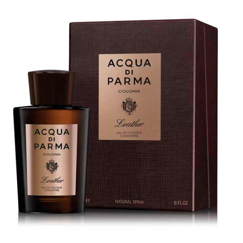 ACQUA DI PARMA - Acqua Di Parma Colonia Leather para hombre / 180 ml Eau De Cologne Spray