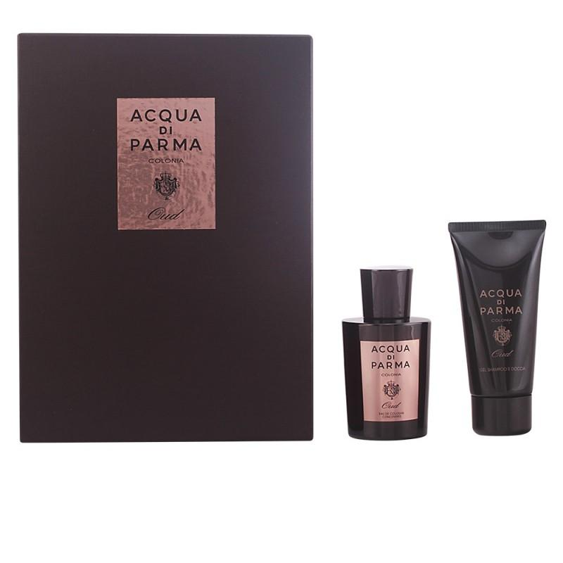 ACQUA DI PARMA - Acqua Di Parma Colonia Oud para hombre / SET - 100 ml Eau de Cologne Spray + 75 ml Shampoo corporal