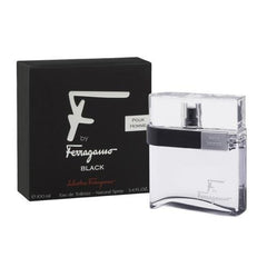 SALVATORE FERRAGAMO - F by Ferragamo Black para hombre / 100 ml Eau De Toilette Spray