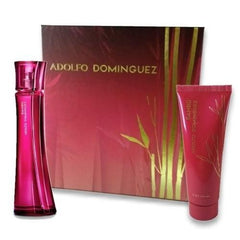 ADOLFO DOMÍNGUEZ - Bambú para mujer / SET - 100 ml Eau De Toilette Spray + 75ml Body Lotion