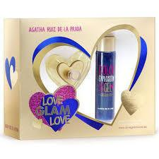 AGATHA RUÍZ DE LA PRADA - Love Glam Love para mujer / SET - 100 ml Eau De Toilette Spray + 100 ml Shower Gel