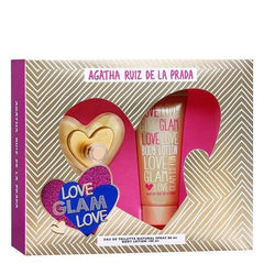 AGATHA RUÍZ DE LA PRADA - Love Glam Love para mujer / SET - 100 ml Eau De Toilette Spray + 1 Regalo