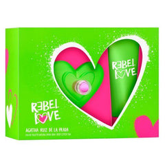 AGATHA RUÍZ DE LA PRADA - Rebel Love para mujer / SET - 80 ml Eau De Toilette Spray + 1 Regalo