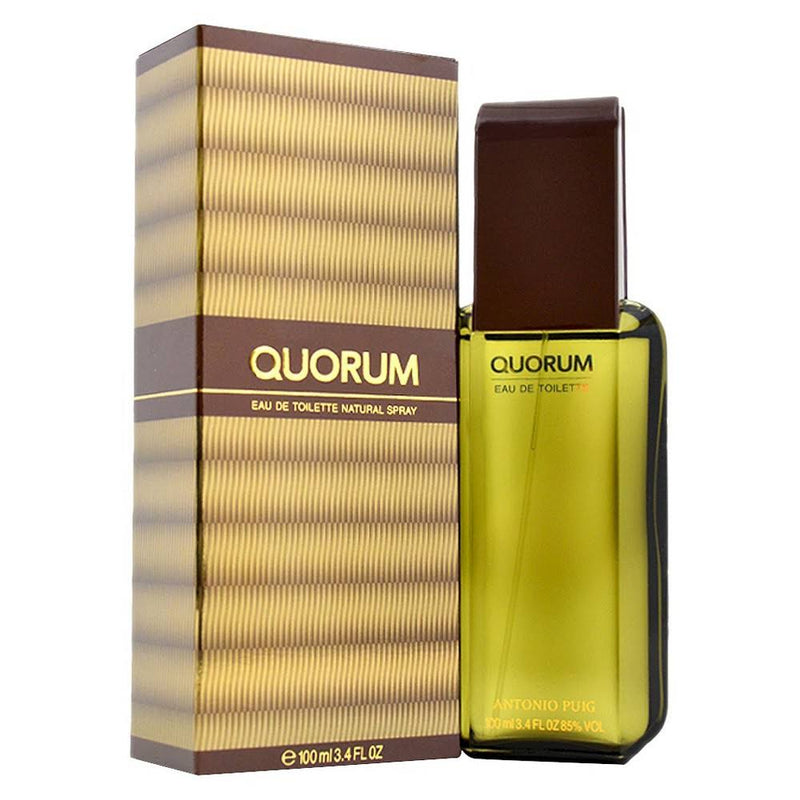 ANTONIO PUIG - Quorum para hombre / 100 ml Eau De Toilette Spray