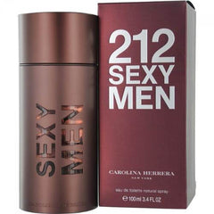 CAROLINA HERRERA - 212 Sexy Men para hombre / 100 ml Eau De Toilette Spray
