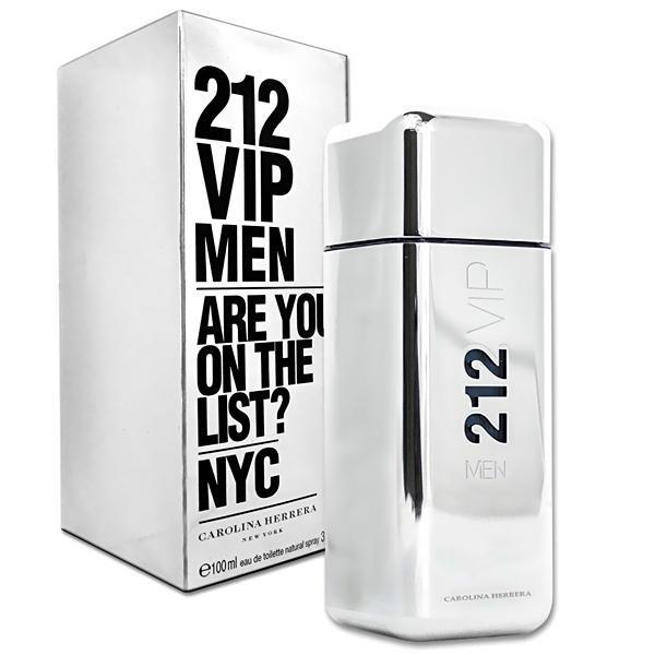 CAROLINA HERRERA - 212 Vip Men para hombre / 100 ml Eau De Toilette Spray