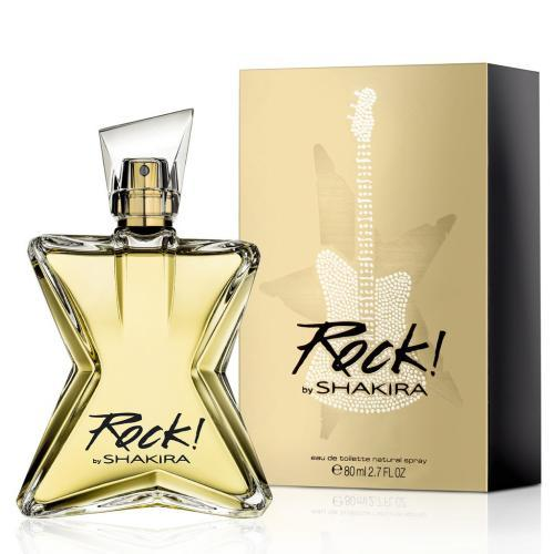 SHAKIRA - Shakira Rock para mujer / 80 ml Eau De Toilette Spray