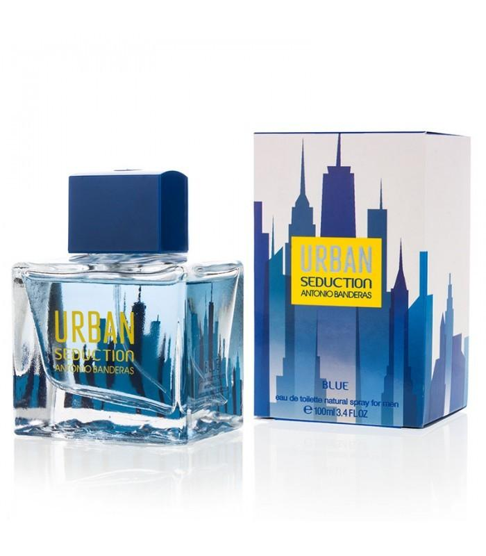 ANTONIO BANDERAS - Urban Seduction Blue para hombre / 100 ml Eau De Toilette Spray