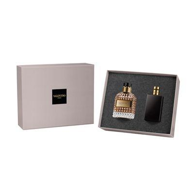 VALENTINO - Valentino Uomo para hombre / SET - 100 ml Eau De Toilette Spray + 1 Regalo