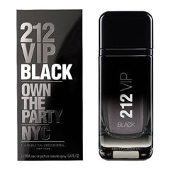 CAROLINA HERRERA - 212 Vip Black para hombre / 100 ml Eau De Parfum Spray