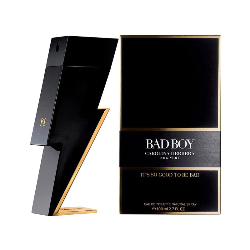 CAROLINA HERRERA - Bad Boy para hombre / 100 ml Eau De Toilette Spray