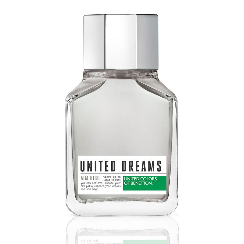 BENETTON - United Dreams Aim High para hombre / 100 ml Eau De Toilette Spray