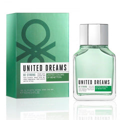 BENETTON - United Dreams Be Strong para hombre / 100 ml Eau De Toilette Spray
