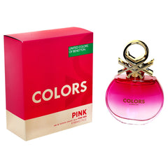BENETTON - Colors Pink para mujer / 80 ml Eau De Toilette Spray