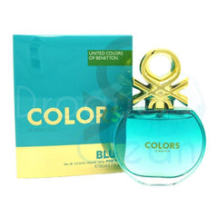 BENETTON - Colors Blue para mujer / 80 ml Eau De Toilette Spray